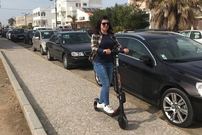 Déplacez-vous en trottinette ou en scooter électrique