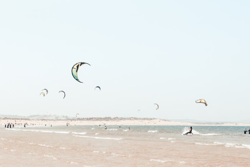 The port of Essaouira: beaches, watersports and all kinds of activities