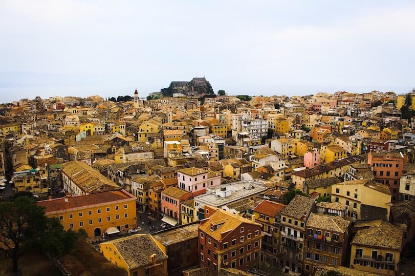 9- For architectural enthusiasts: Corfu