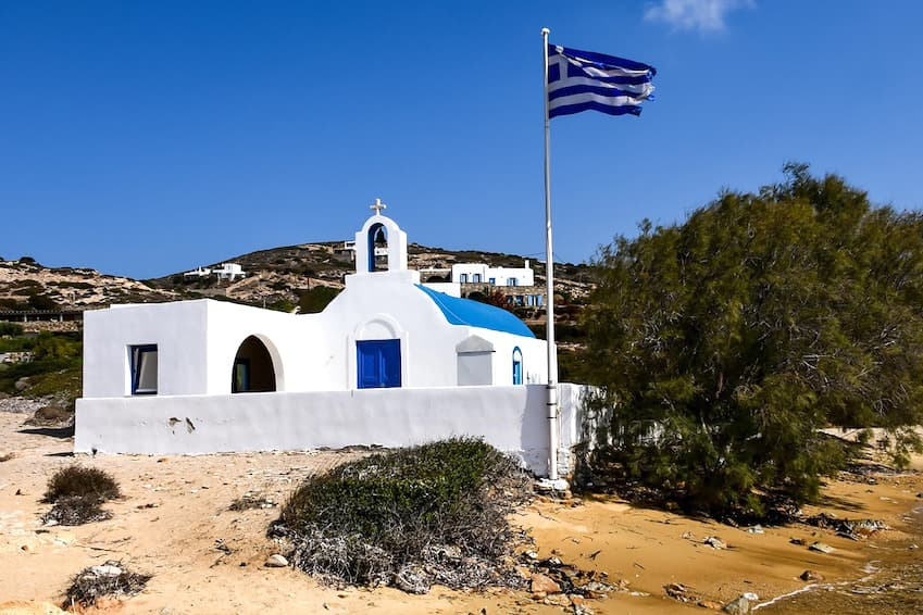 8- For families: Antiparos
