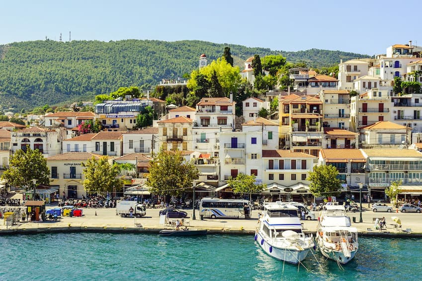 5- To relax on the beach: Skiathos