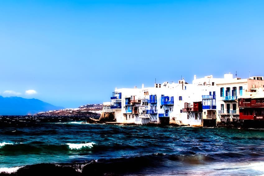 1- For the partygoers: Mykonos