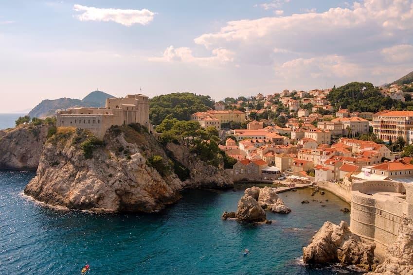 Dubrovnik : une architecture sortie tout droit d'un roman fantastique