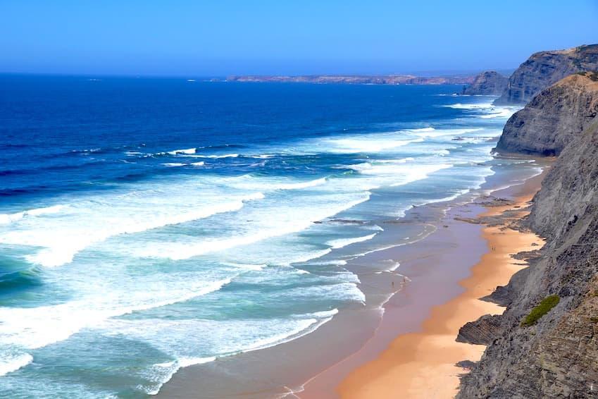 1- Praia de Odeceixe, Aljezur