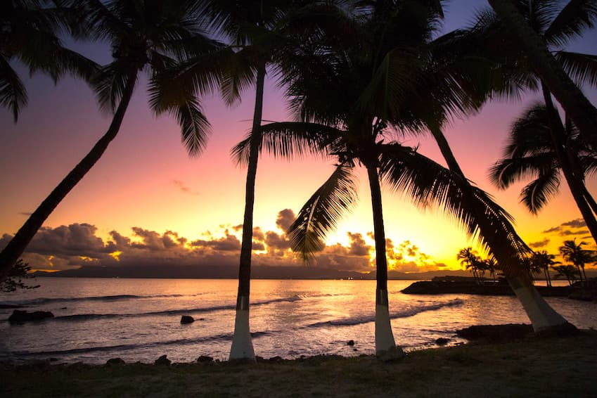 The sublime beaches and water activities of Guadeloupe