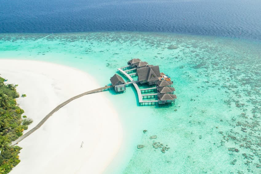 5- The Maldives