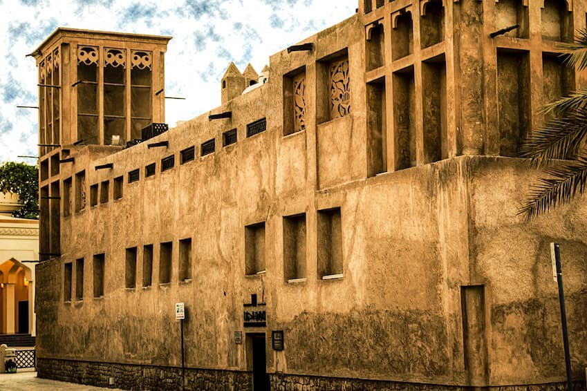2- Lose yourself in Bastakiya, the former district of the Persian merchants