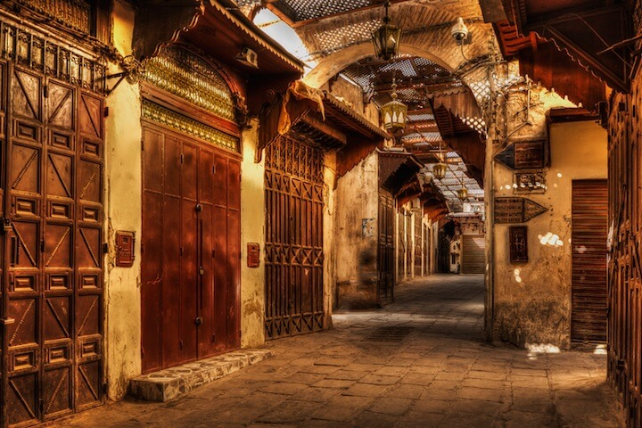 1. Fes has the oldest medina in the world