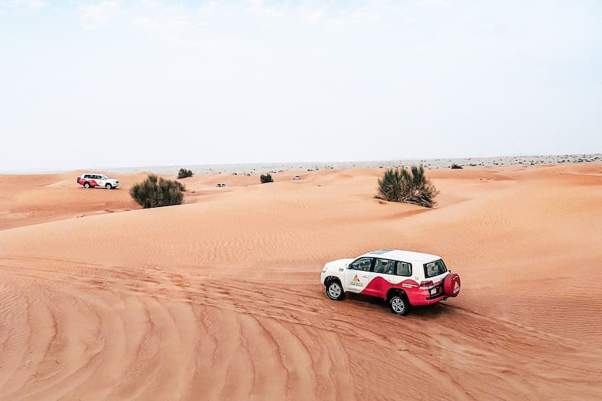 Organisez un trip dans le désert