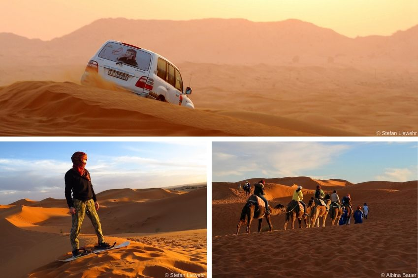 Profitez du désert