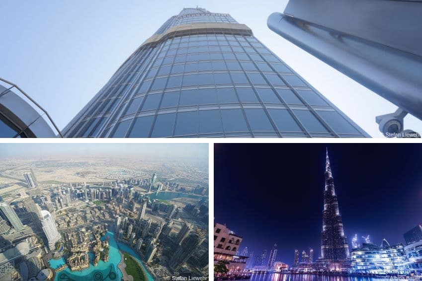 Montez au sommet du Burj Khalifa