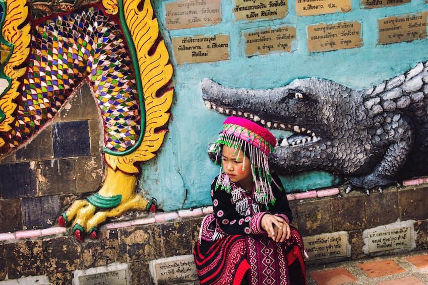 Phi Ta Khon, the ghost festival
