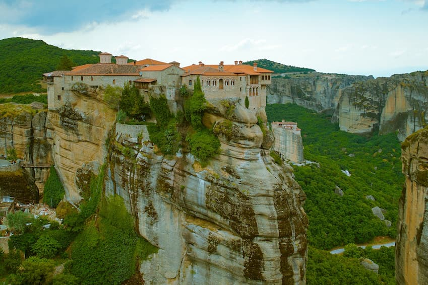 The meteor monasteries