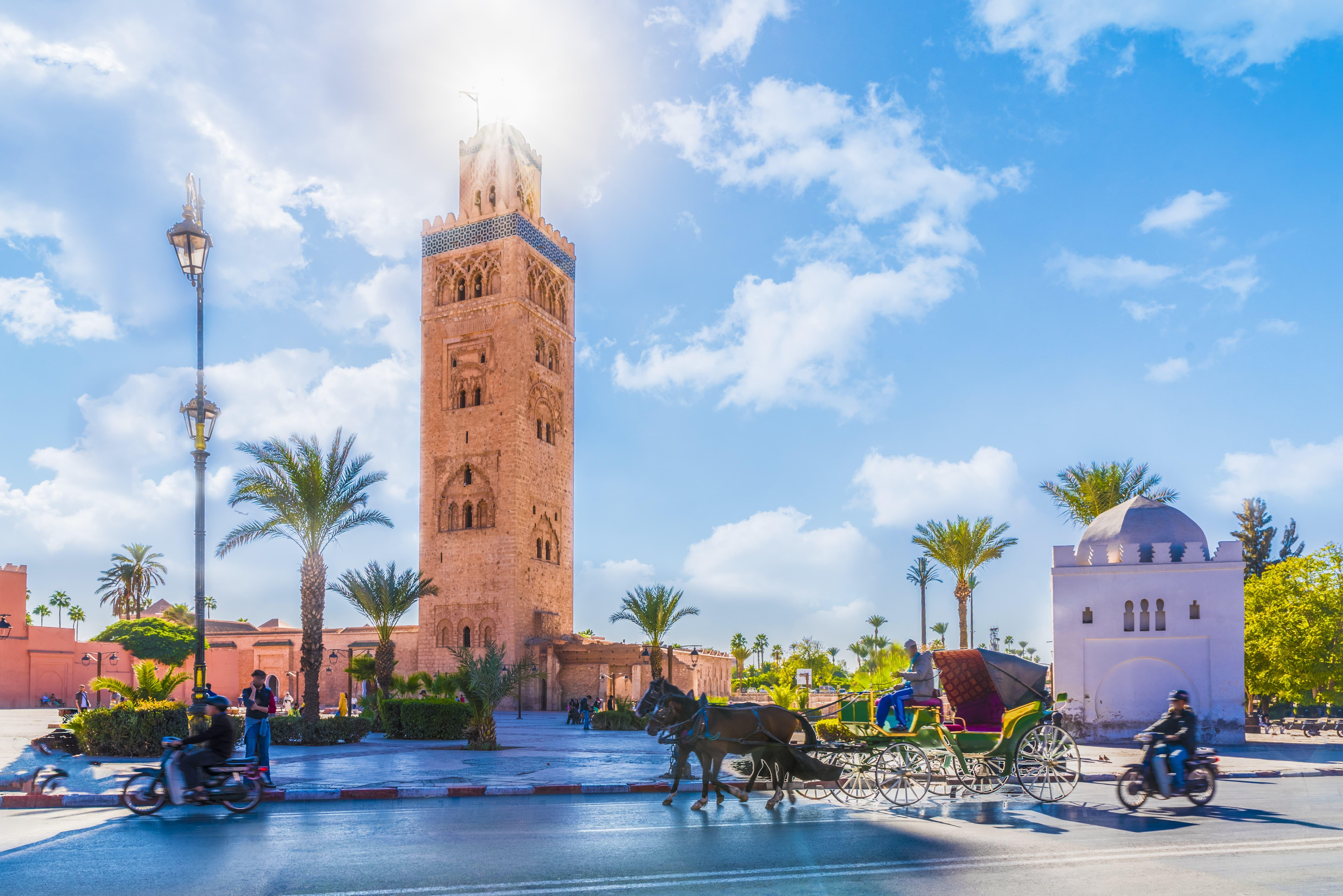 À Marrakech