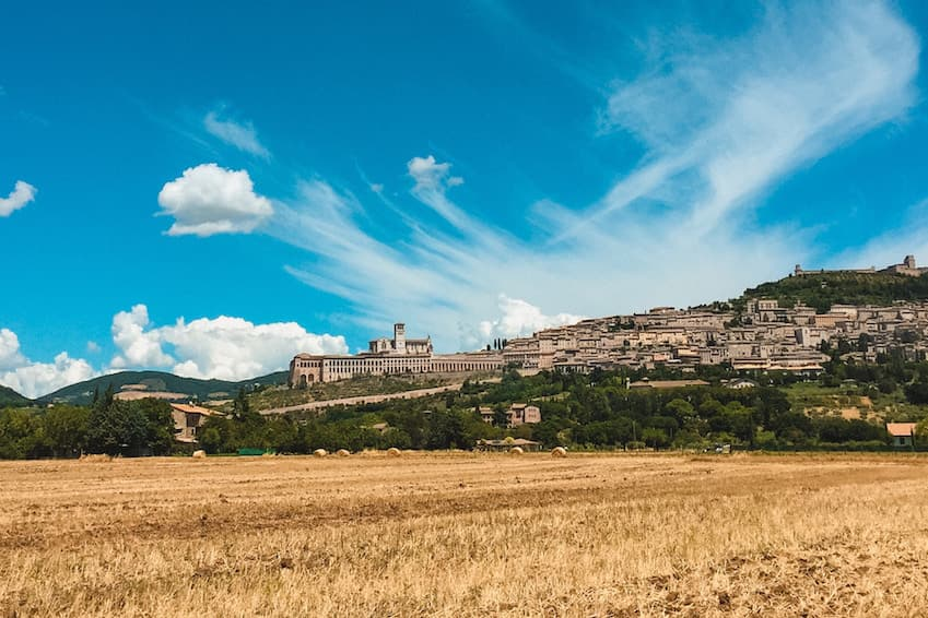 Orvieto, the volcanic city