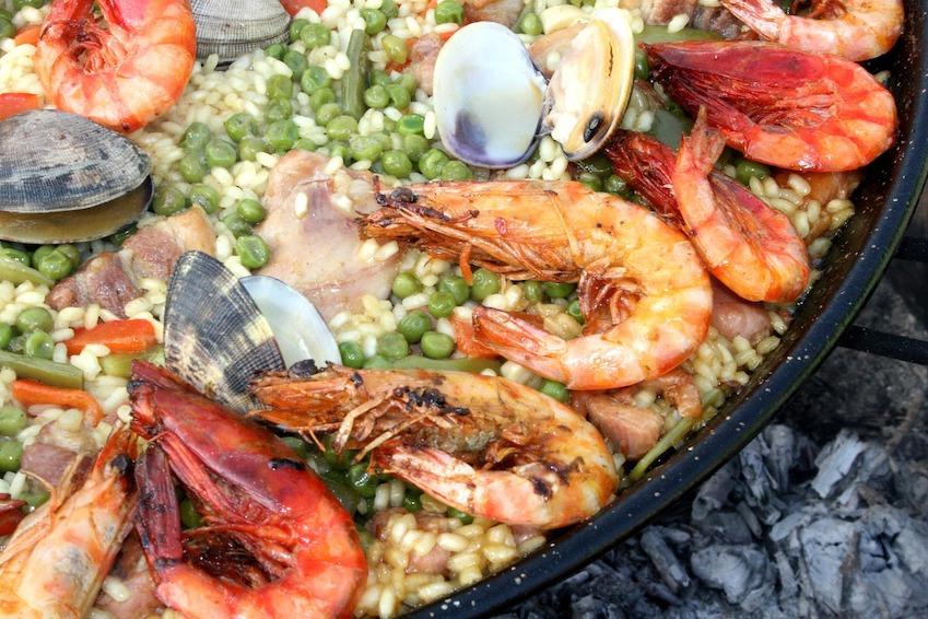 Espagne - Paella aux fruits de mer