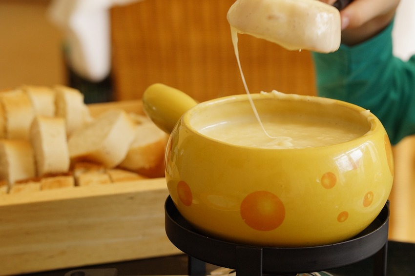 Switzerland - Cheese fondue
