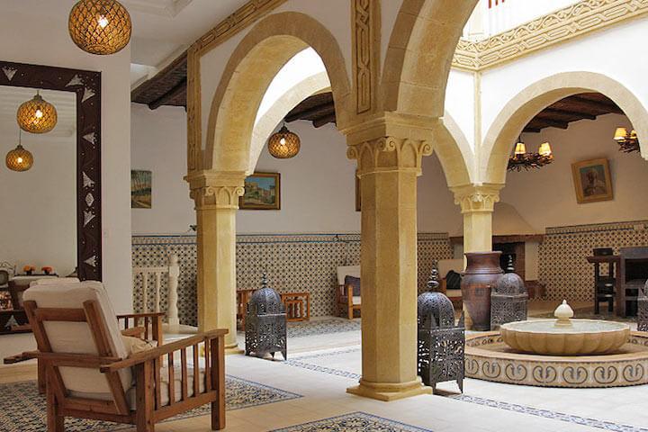 Des dars comme point d'attache lors d'un séjour à Essaouira