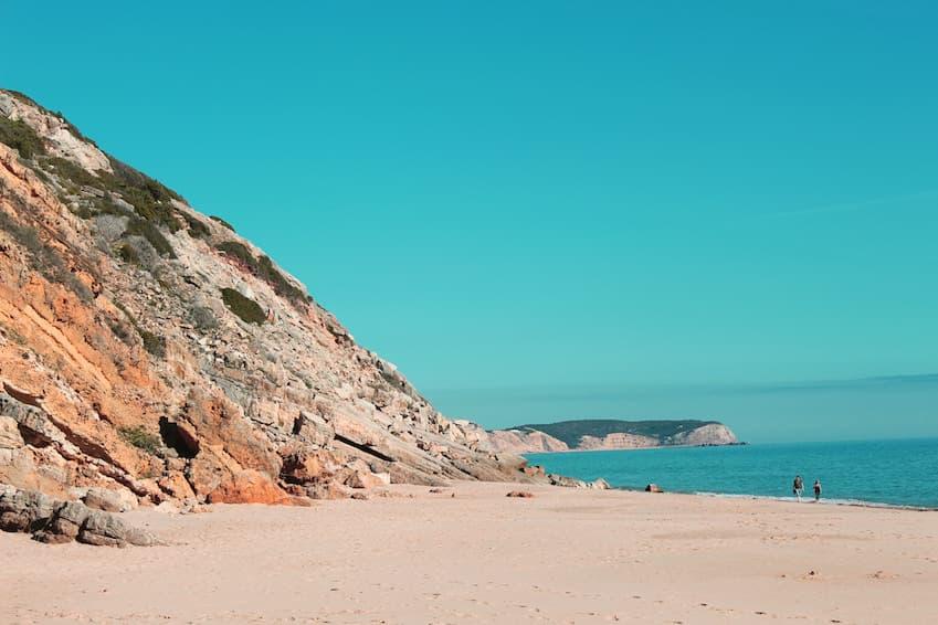 Ilha da Barreta, aussi appelée ilha Deserta, en face de Faro