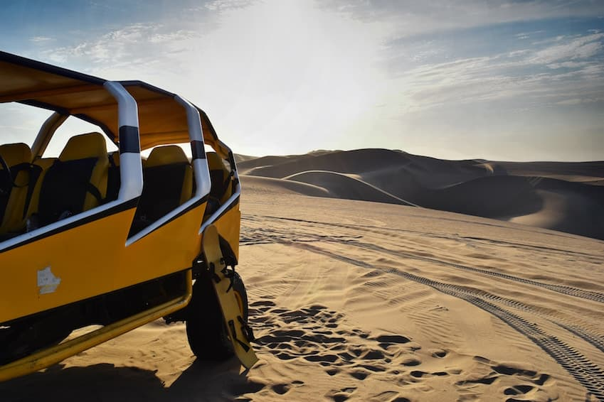 Where and how to try the sandboard?