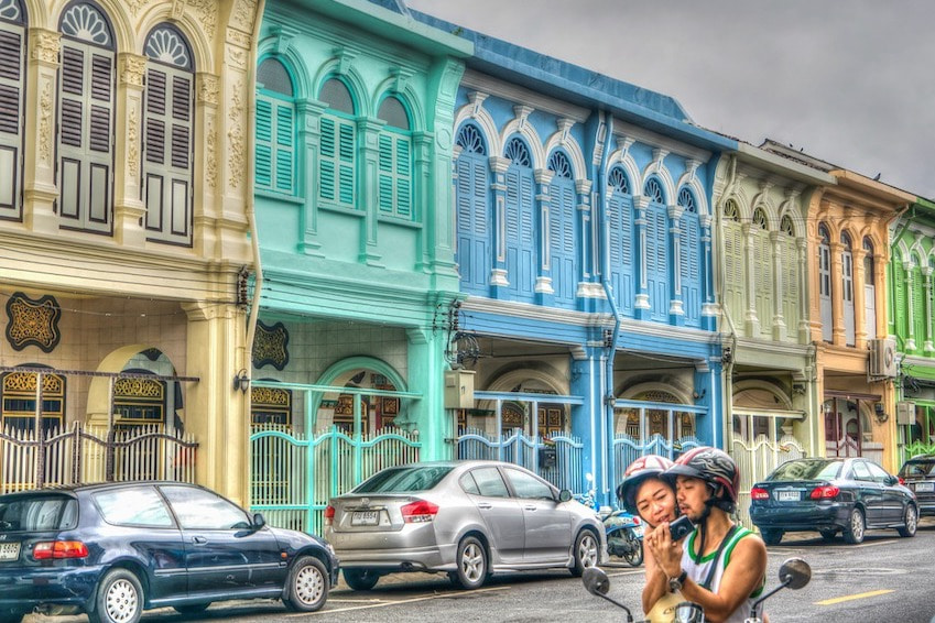 The old town of Phuket