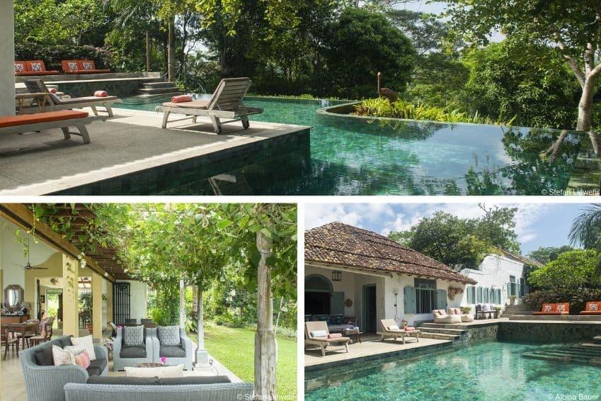 La villa Mawhata, au Sri Lanka