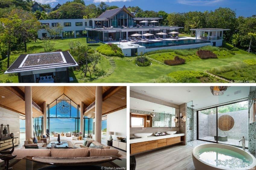 La villa Thaia, en Thaïlande