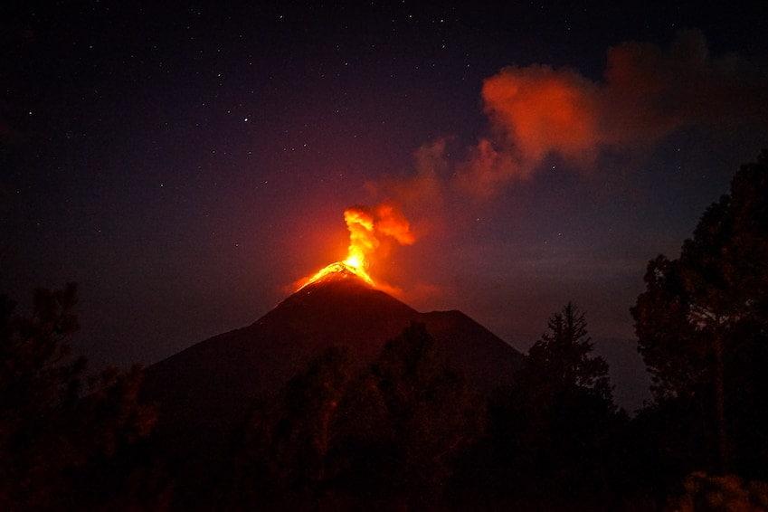 Mont Krakatau, le plus dangereux