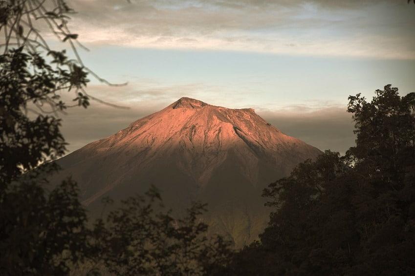 Mont Kerinci, le plus haut