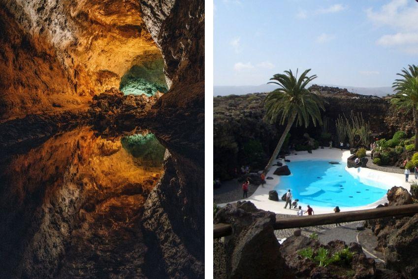 Les splendeurs sous-marines et souterraines de Lanzarote