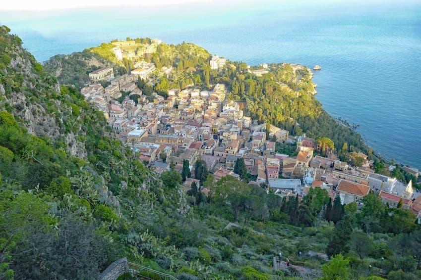 Les mille et unes vues de Taormina