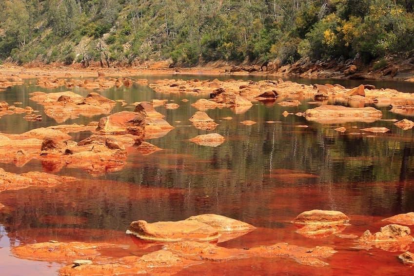 The Natural Park of Rio Tinto - Huelva