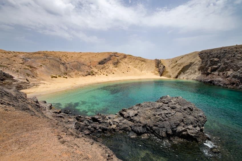 The beauty of the Canary Island - PapaGayo Beach