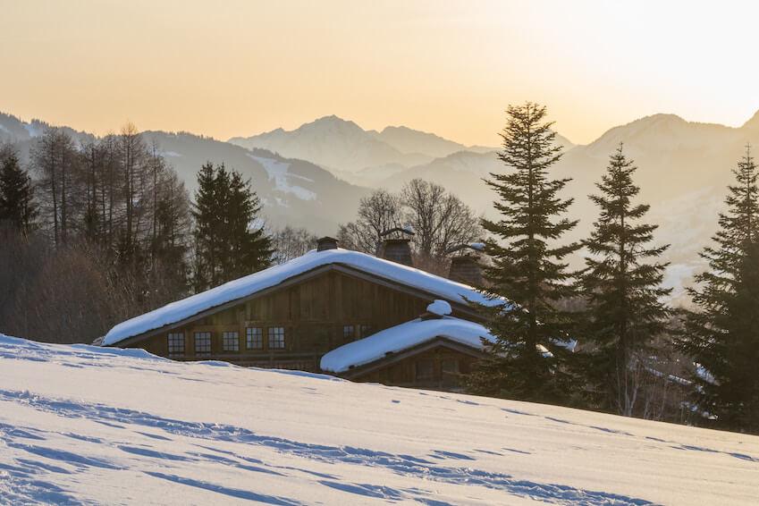Un Noël blanc à Megève