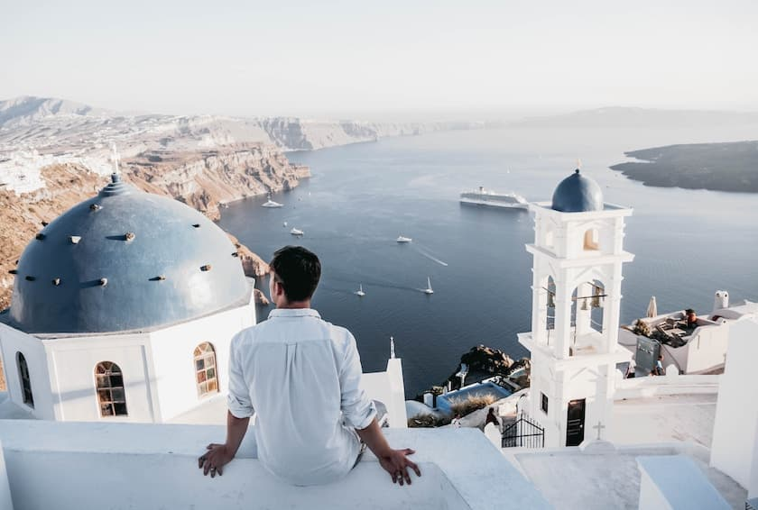 Santorin pour un voyage au paradis