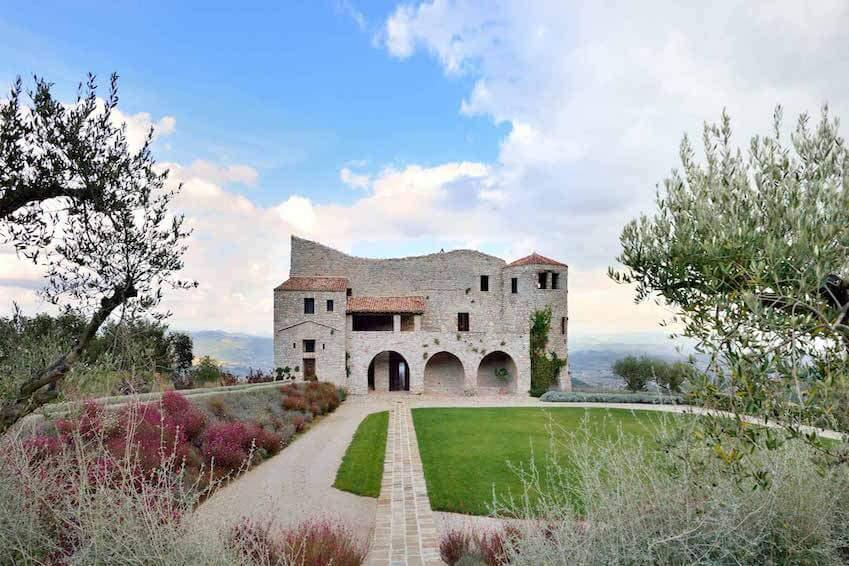 Voyage dans le passé garanti: Castello Perugia
