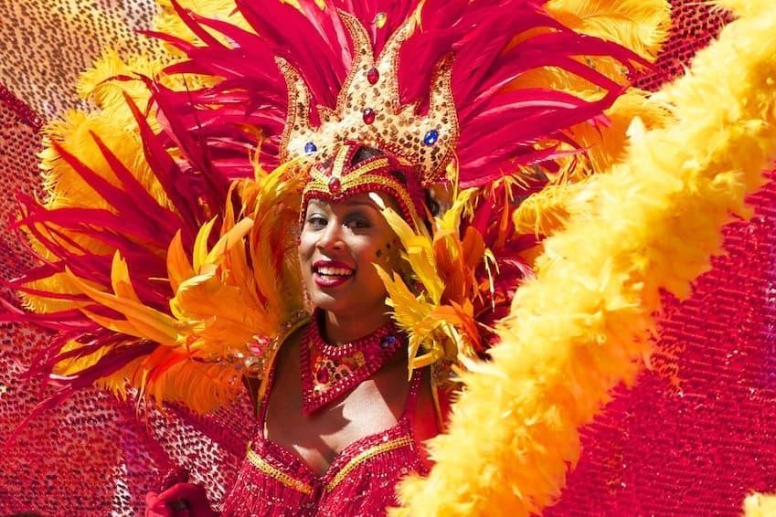 2 . Le Carnaval de Rio en février !