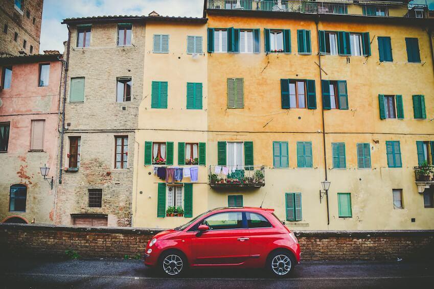 Une Fiat 500 pour vivre la Dolce Vita en Italie