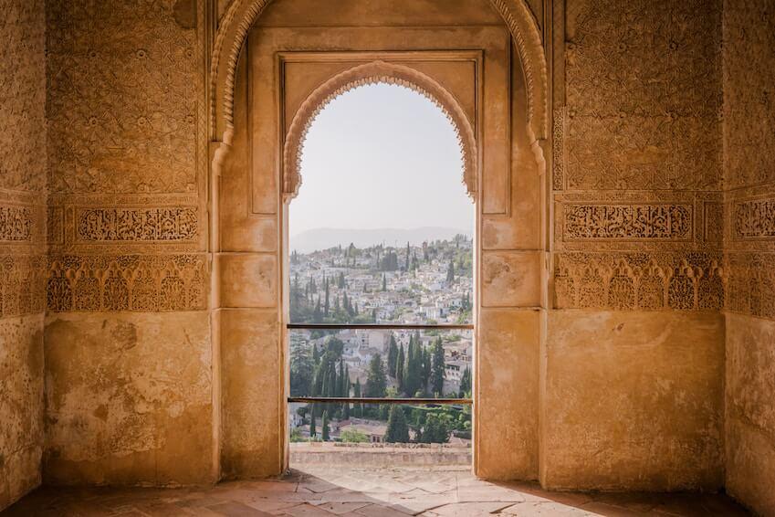7) La Alhambra in Granada