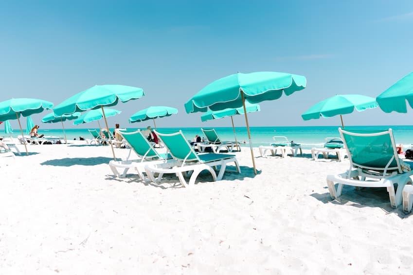 Passer de la neige au soleil de Miami