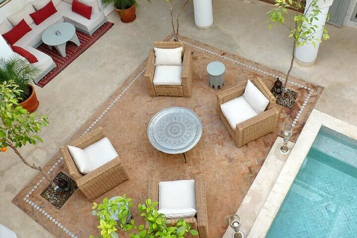 Enjoy the enchanting setting of Marrakech