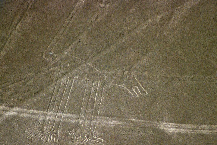 The Nazca Lines in Peru
