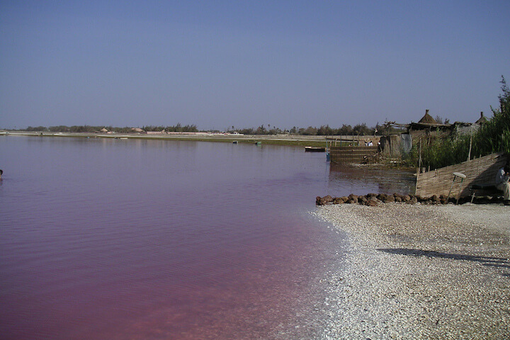 Senegal's Rose Lake