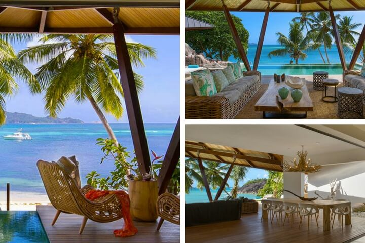 Beach Villa Praslin