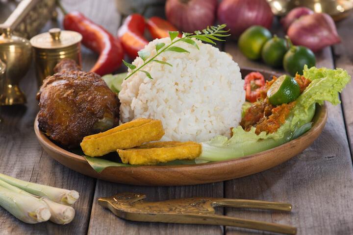 Taste the Balinese cuisine