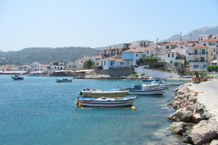 An unforgettable trip and a dream stay in Samos