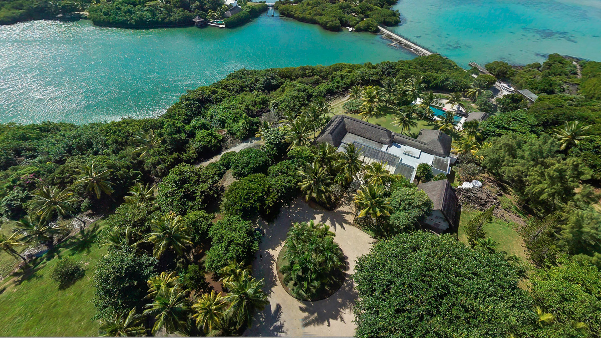 Villa Villa Om Shanti, Location à Île Maurice Est