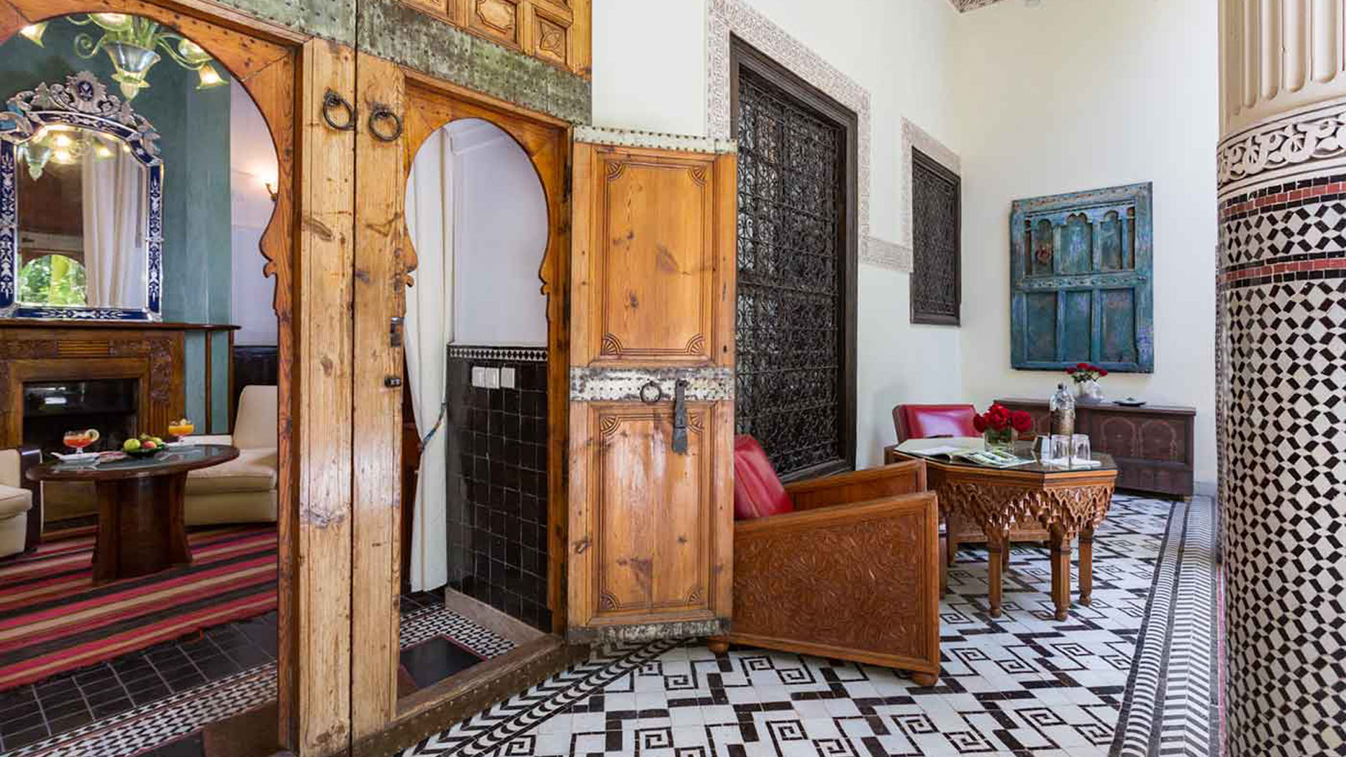 Villa Dar Doukkala, Location à Marrakech