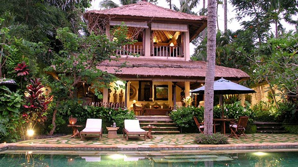 Villa Villa Ria Sayan, Location à Bali