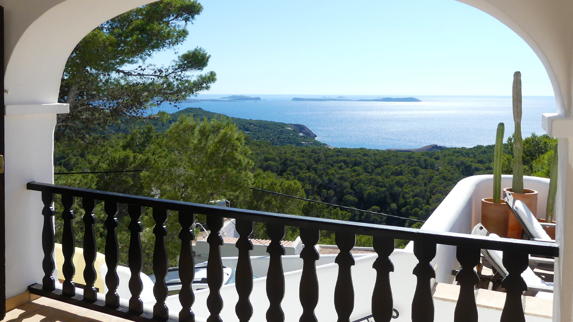 Villa Trillo, Location à Ibiza